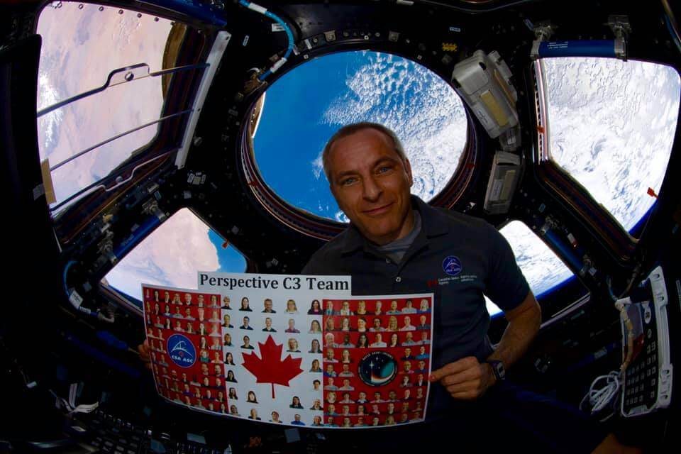 David Saint-Jacques - Station spatiale internationale